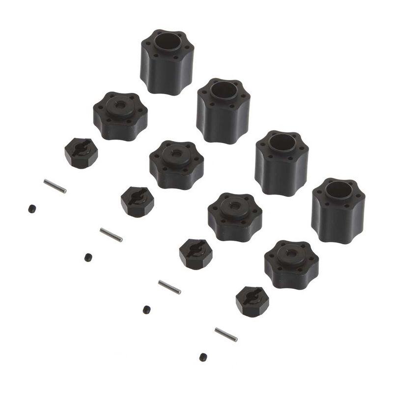 Hex Hub Conv Set (12mm)(4pcs) 9026 Wraith