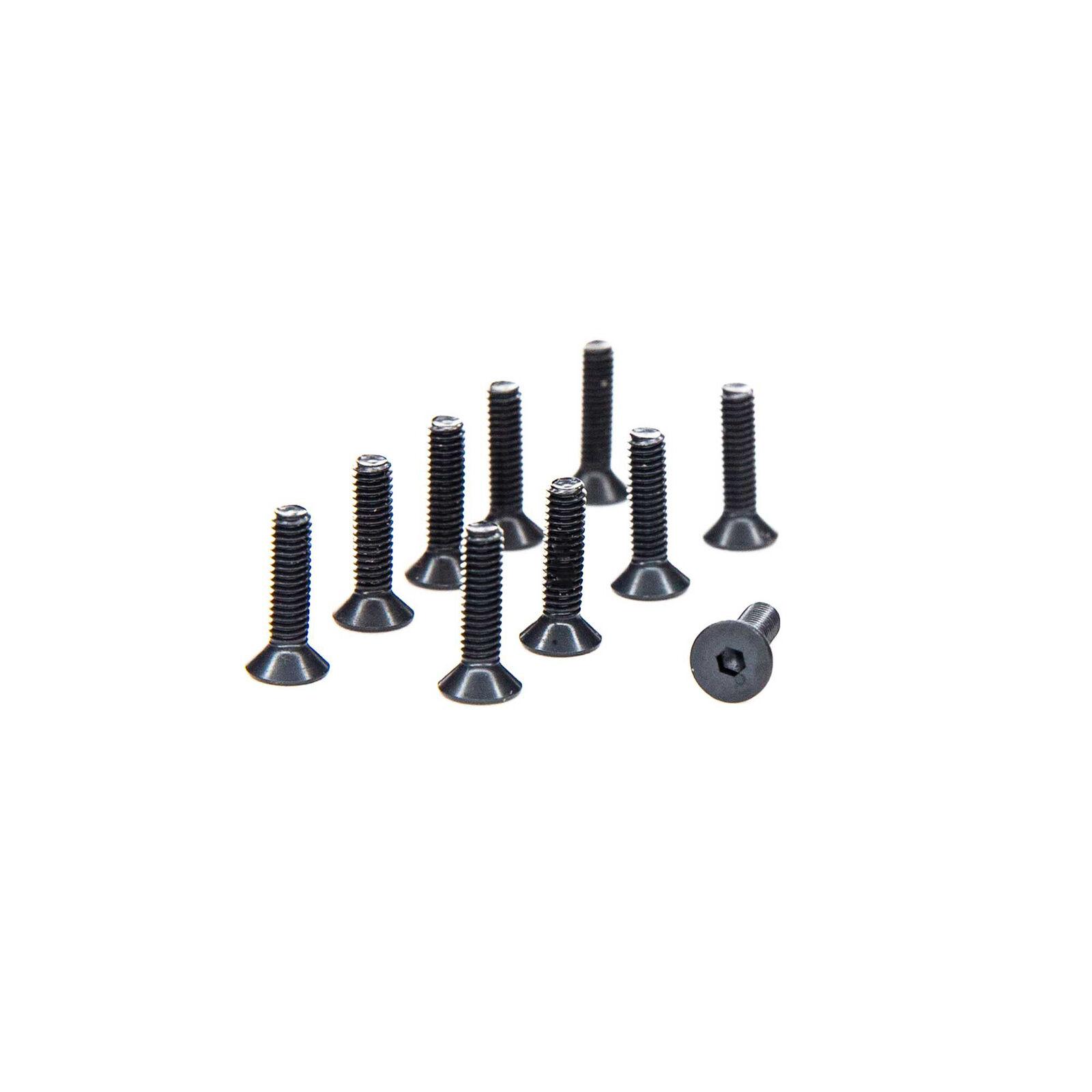 M2.5 x 10mm Flat Head Screws (10)