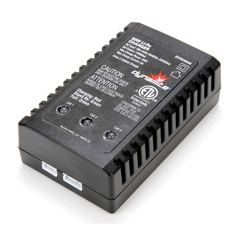 20W LiPo AC Battery Charger UK Version