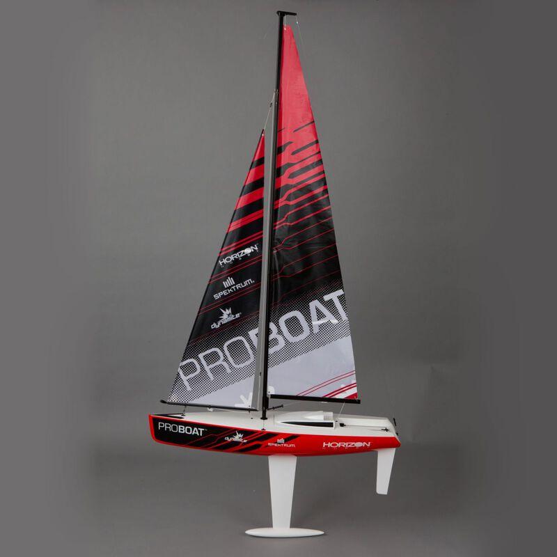 Ragazza 1 Meter Sailboat V2: RTR