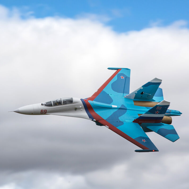 SU-30 Twin 70mm EDF BNF Basic with AS3X & SAFE Select, 1100mm