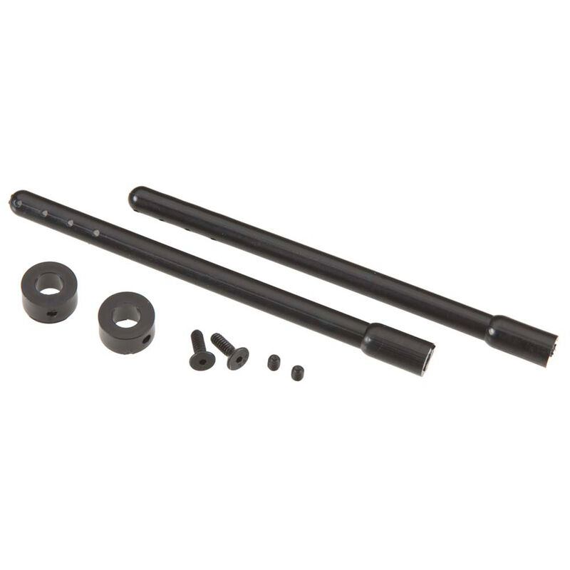 "Nylon Body Post, Black 4"" (2)"
