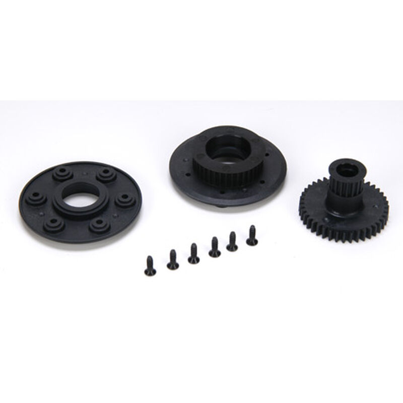Starter Wheel Pulley Set: 8B/8T 2.0