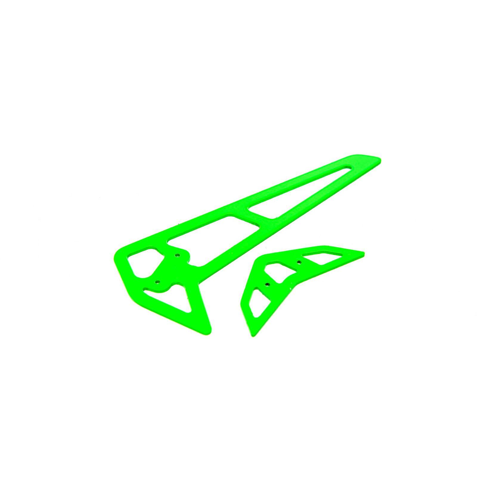 Green Carbon Fiber Fins: 360 CFX