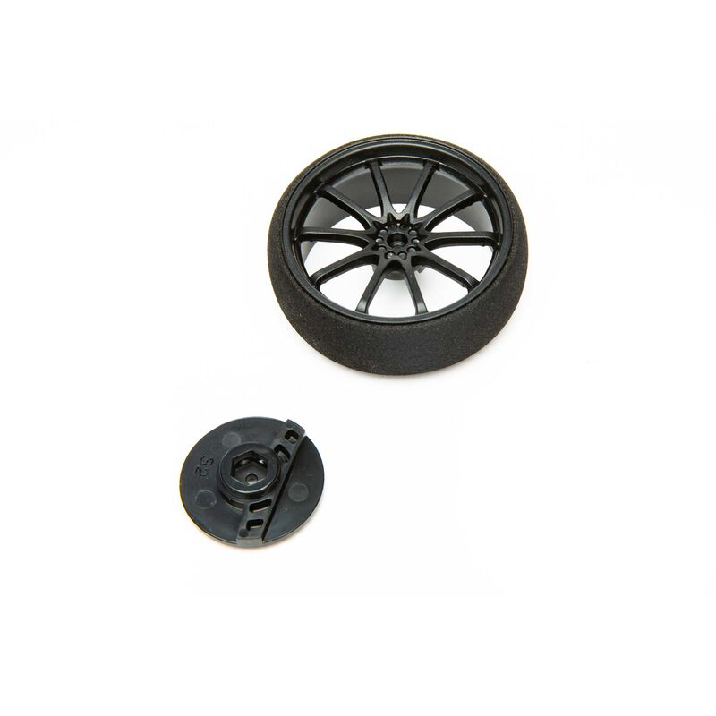 Large Wheel, Black: DX5 Pro/6R/5C