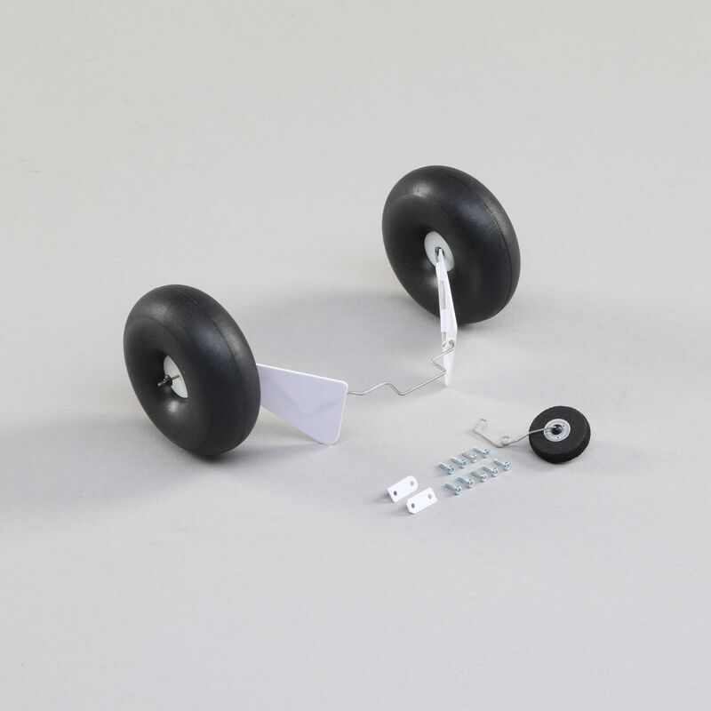 Landing Gear Set with Float Wire Screws: UMX Timber
