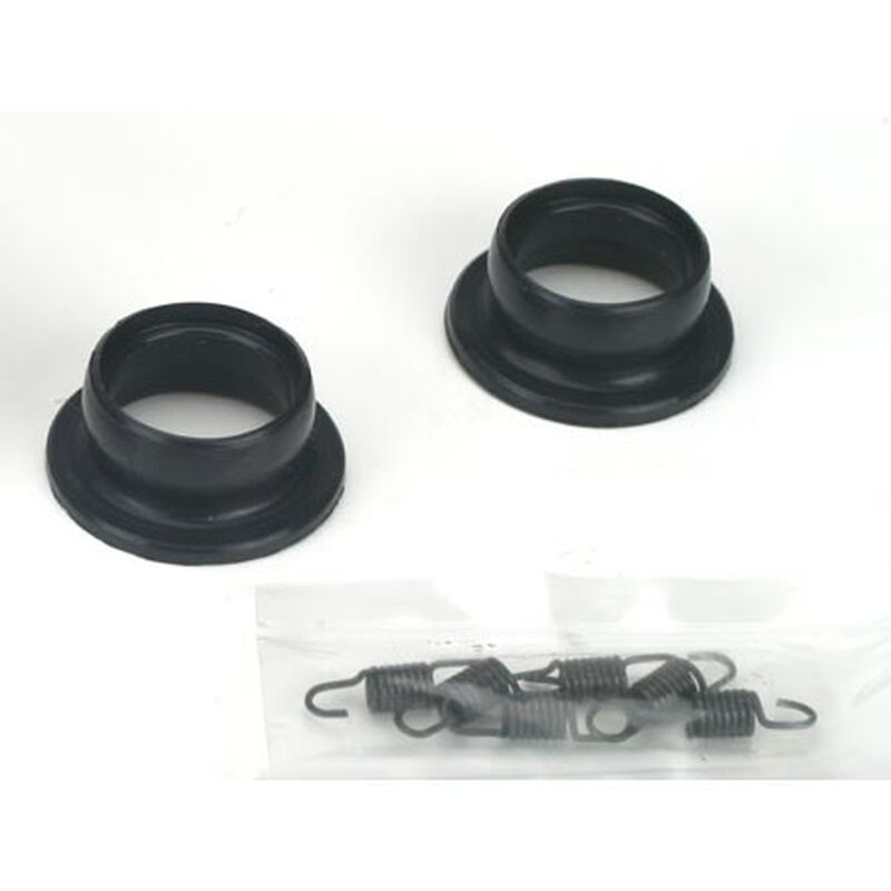Exhaust Pipe Seals & Spring: LST, LST2, AFT, MUG, MGB, XXL/2