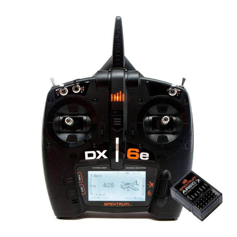 DX6e 6-Channel Transmitter + AR610