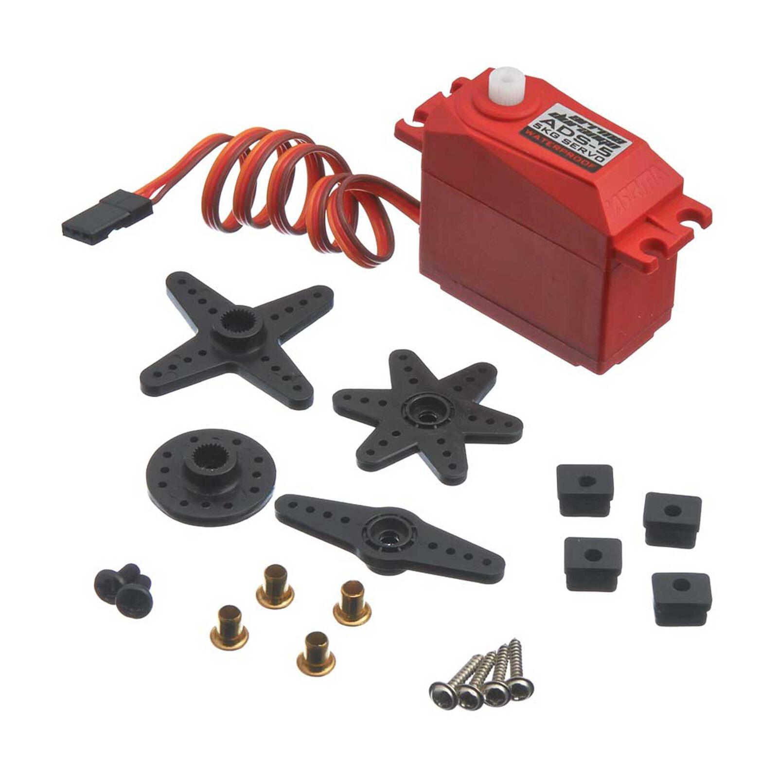 ADS-5 V2 4.5kg Waterproof Servo, Red