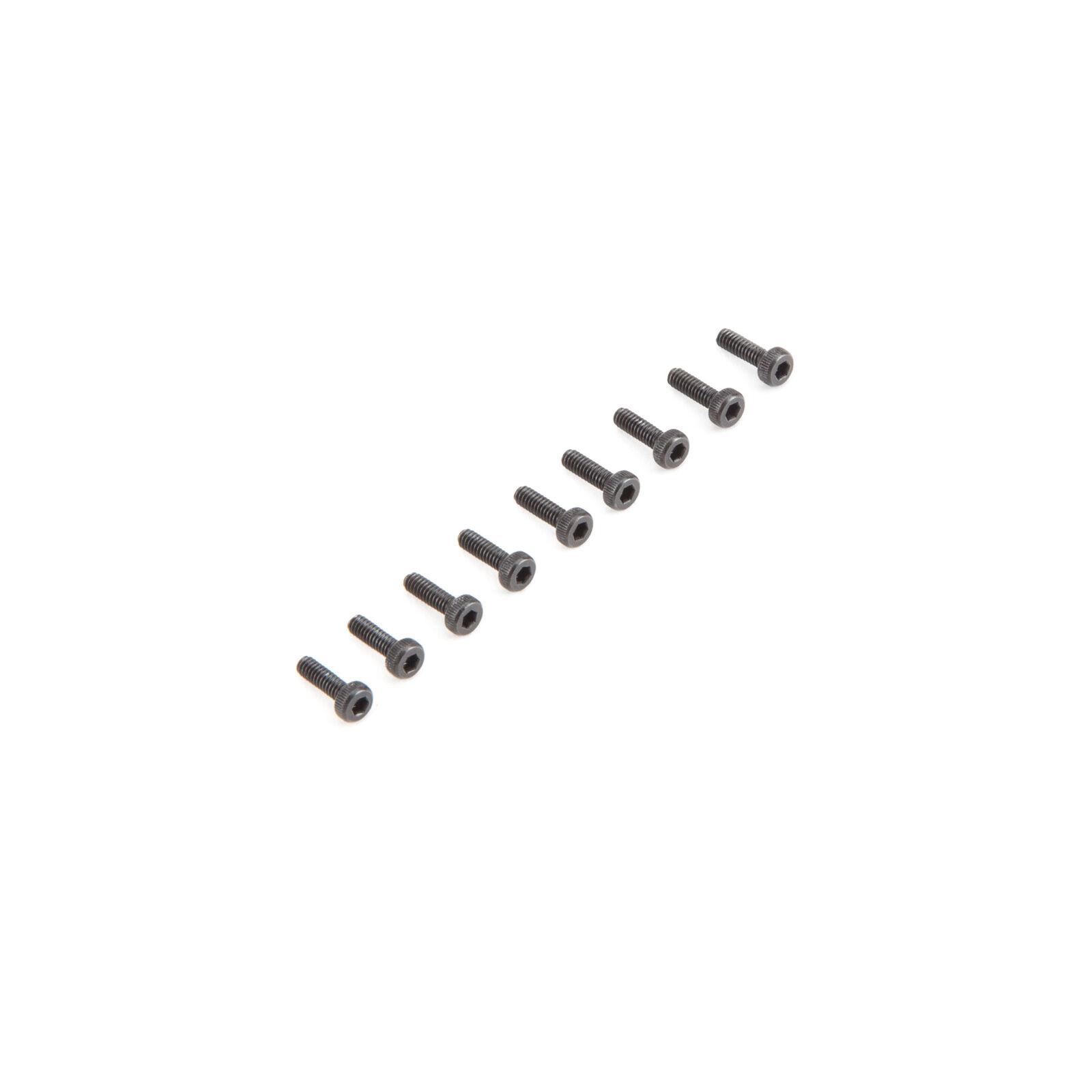 Cap Head Screws M2 x 6mm (10)