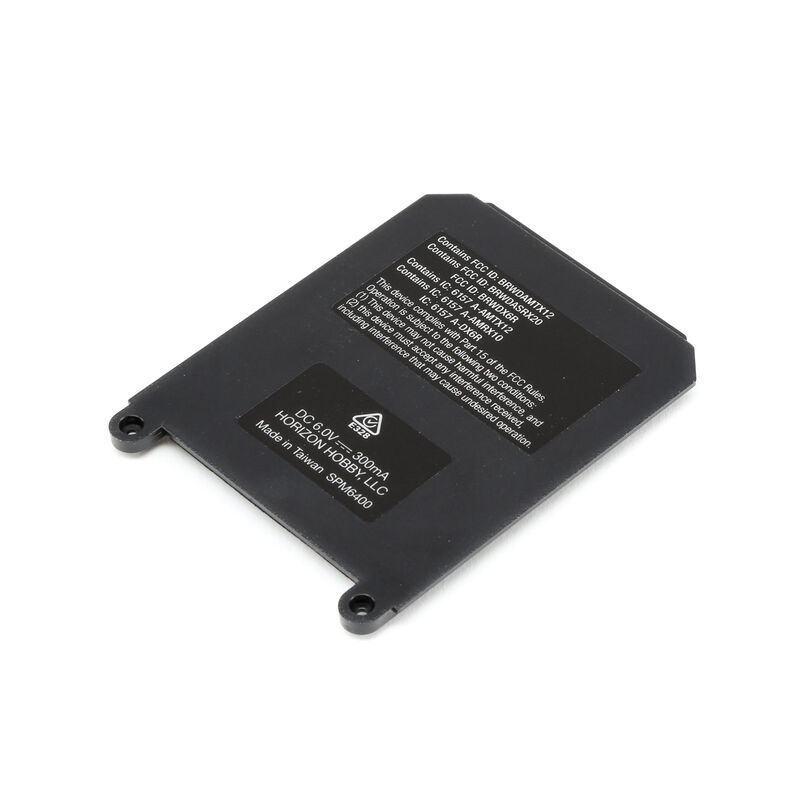 Battery Door with Rubber Net: DX6R/DX5 PRO