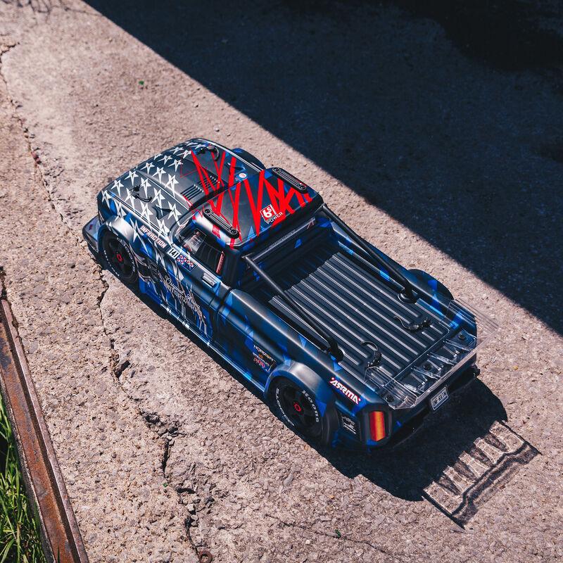 1/7 INFRACTION 6S BLX V2 All-Road Truck RTR, Blue