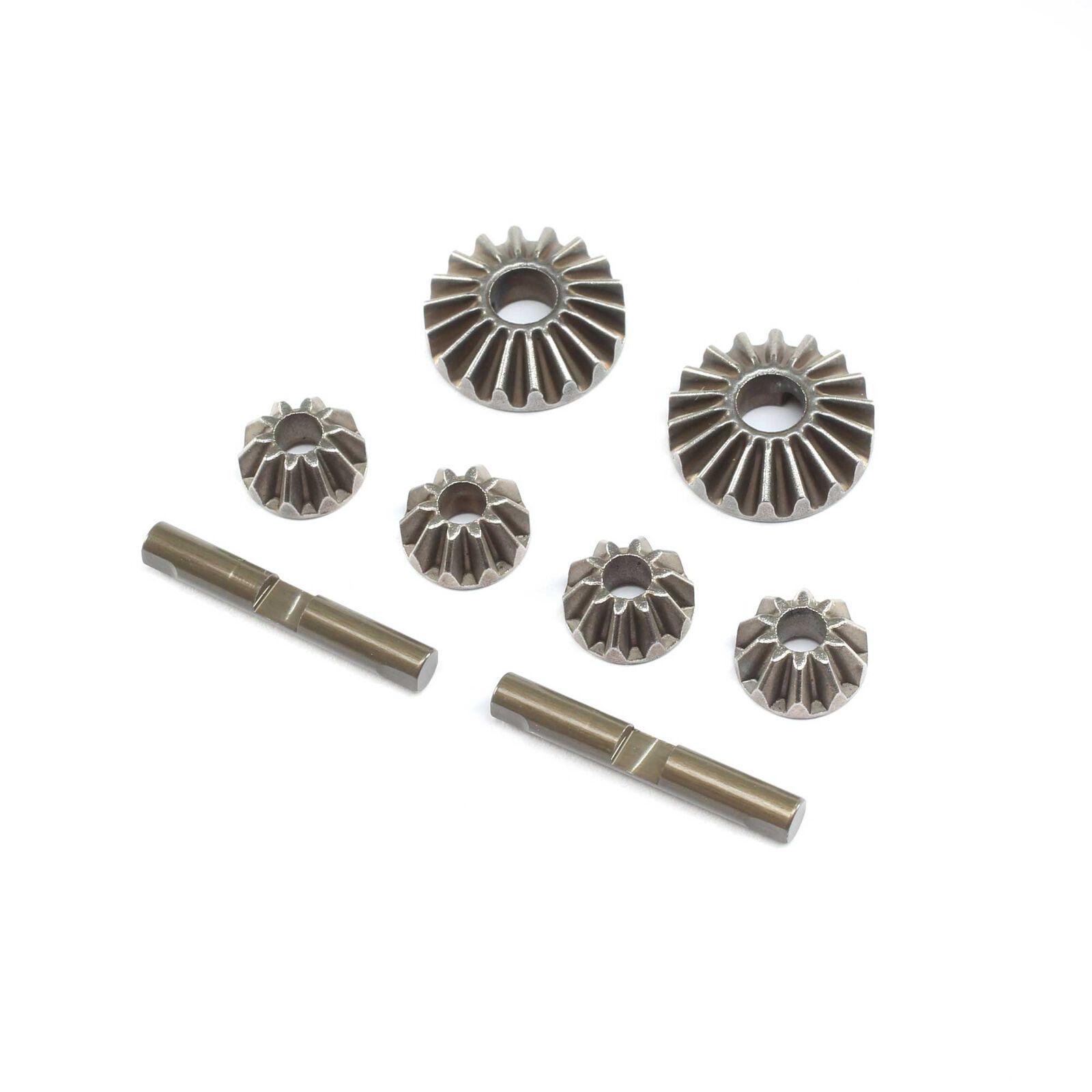 Diff Gear & Cross Pin Set Metal: 22X-4