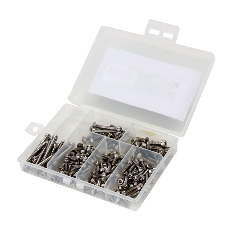 Stainless Steel Screw Set: Traxxas 1/16 E-Revo