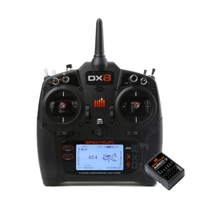 DX8 8-Channel Transmitter + AR610