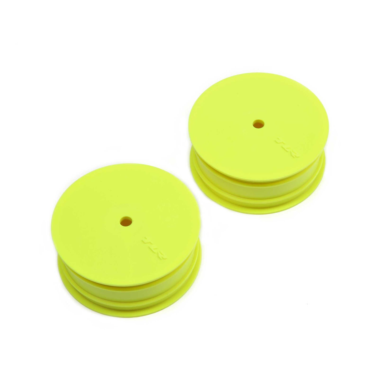 1/10 Front Buggy 2.2 Wheels, Stiffezel, 12mm Hex, Yellow (2): 22 4.0