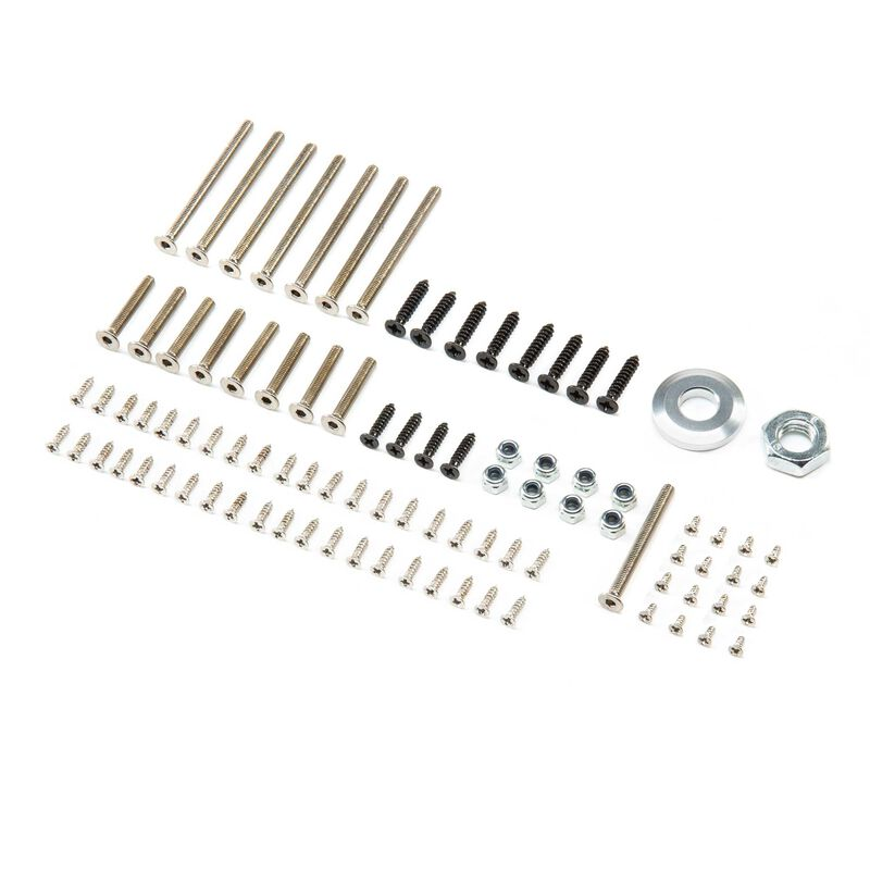 Screw and Bolt Hardware Set: P-51D 1.5m Mustang