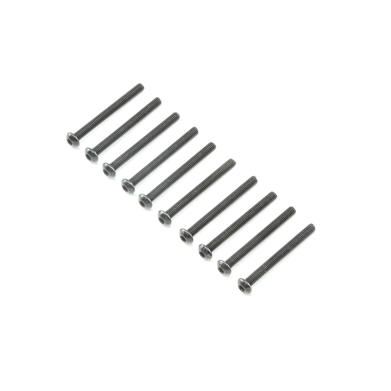Button Head Screws M3x30mm (10)