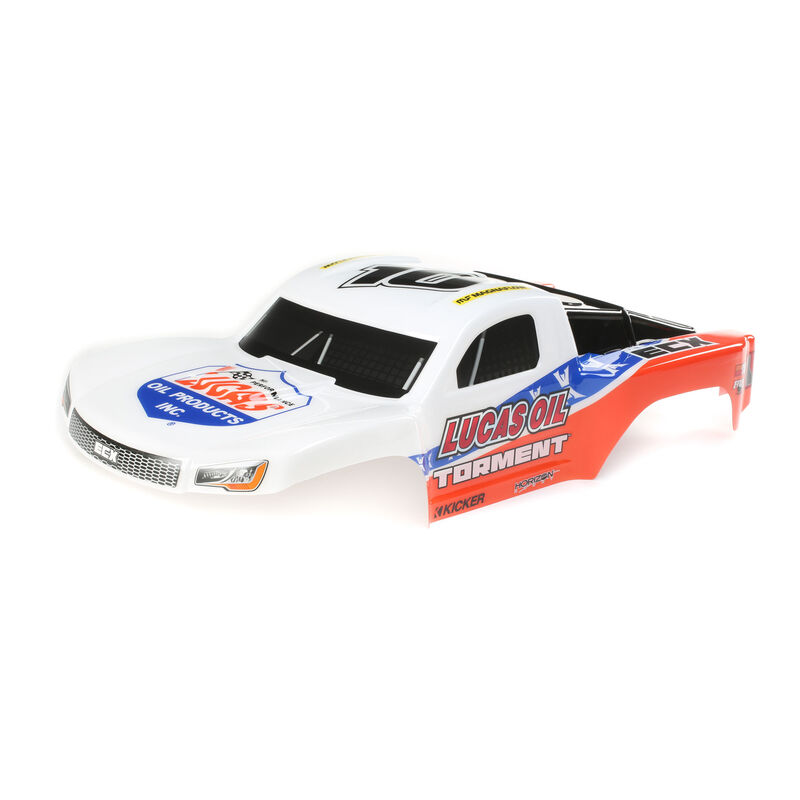 1/10 Painted Body, Lucas Oil: 1/10 2WD Torment