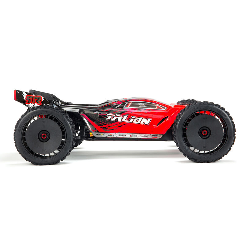1/8 TALION 6S BLX 4WD Brushless Sport Performance Truggy with Spektrum RTR, Red/Black