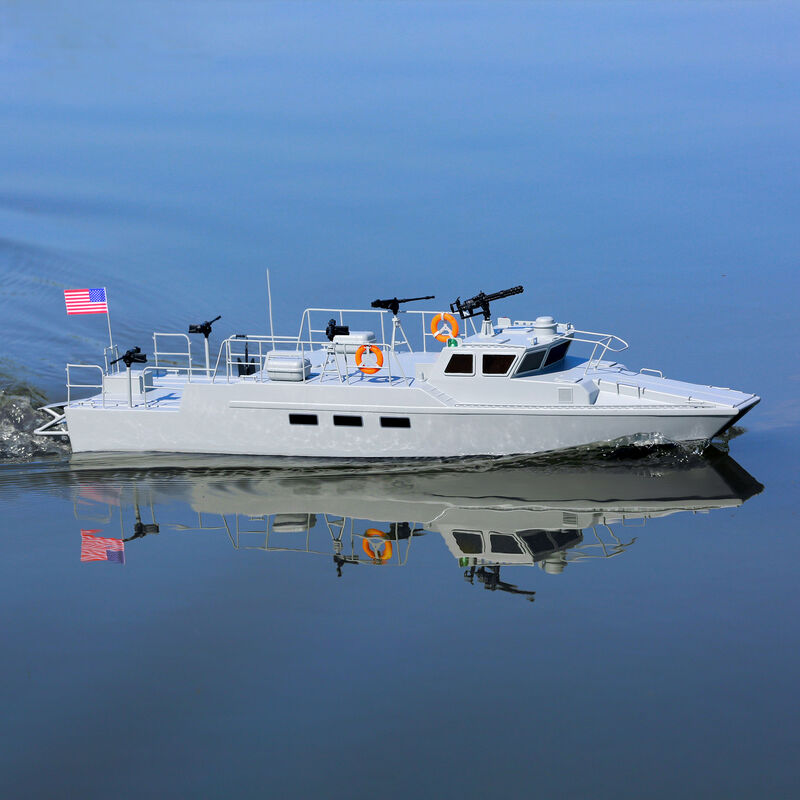 "Riverine Patrol Boat 22"" Brushed RTR"