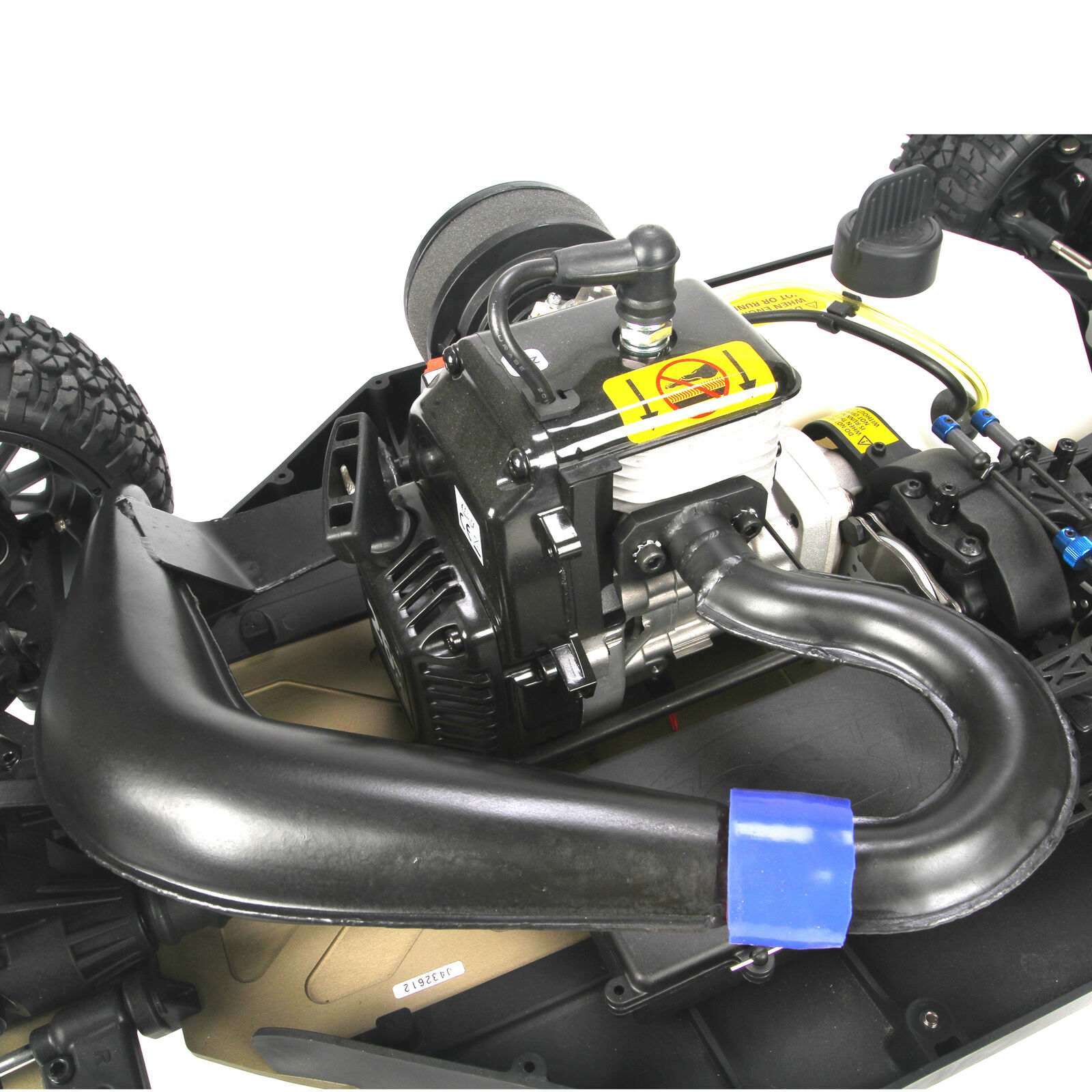 Tuned Exhaust Pipe, 23-30cc Gas Engines: 5IVE-T