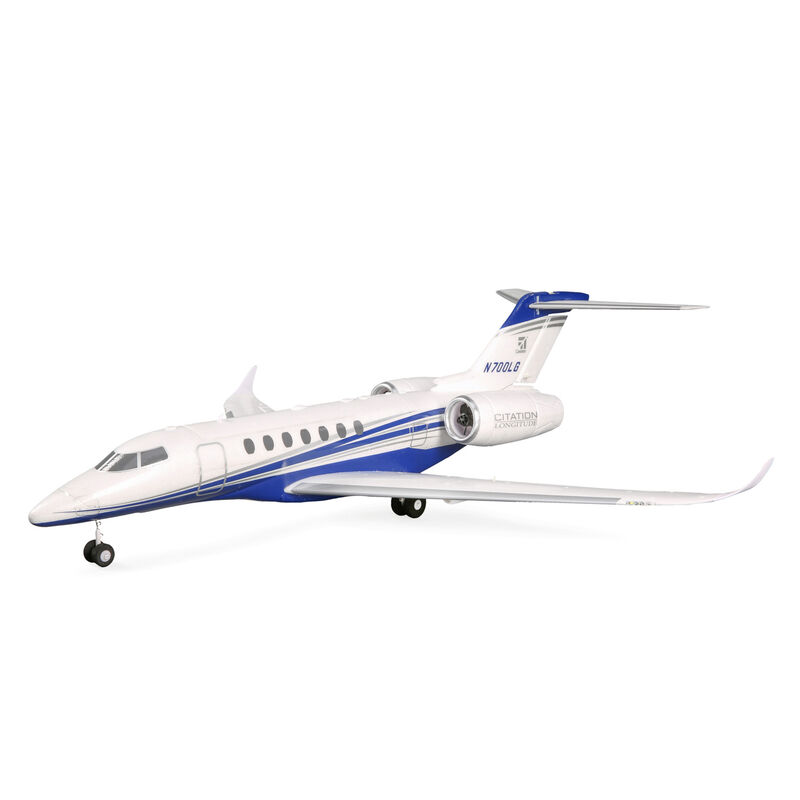 UMX Citation Longitude Twin 30mm EDF BNF Basic with SAFE Select