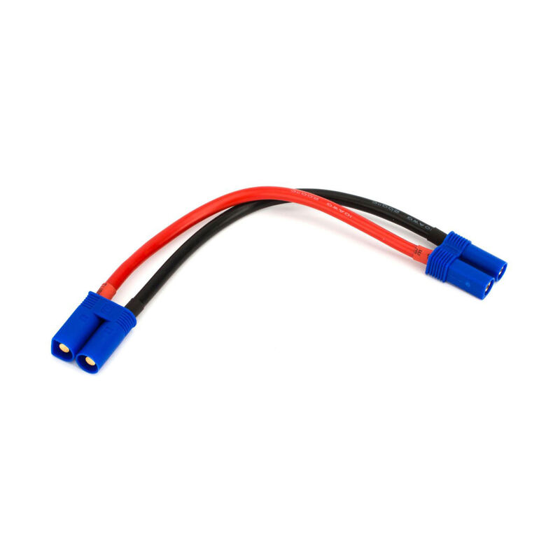"Extension Lead: EC5 with 6"" Wire, 10 AWG"