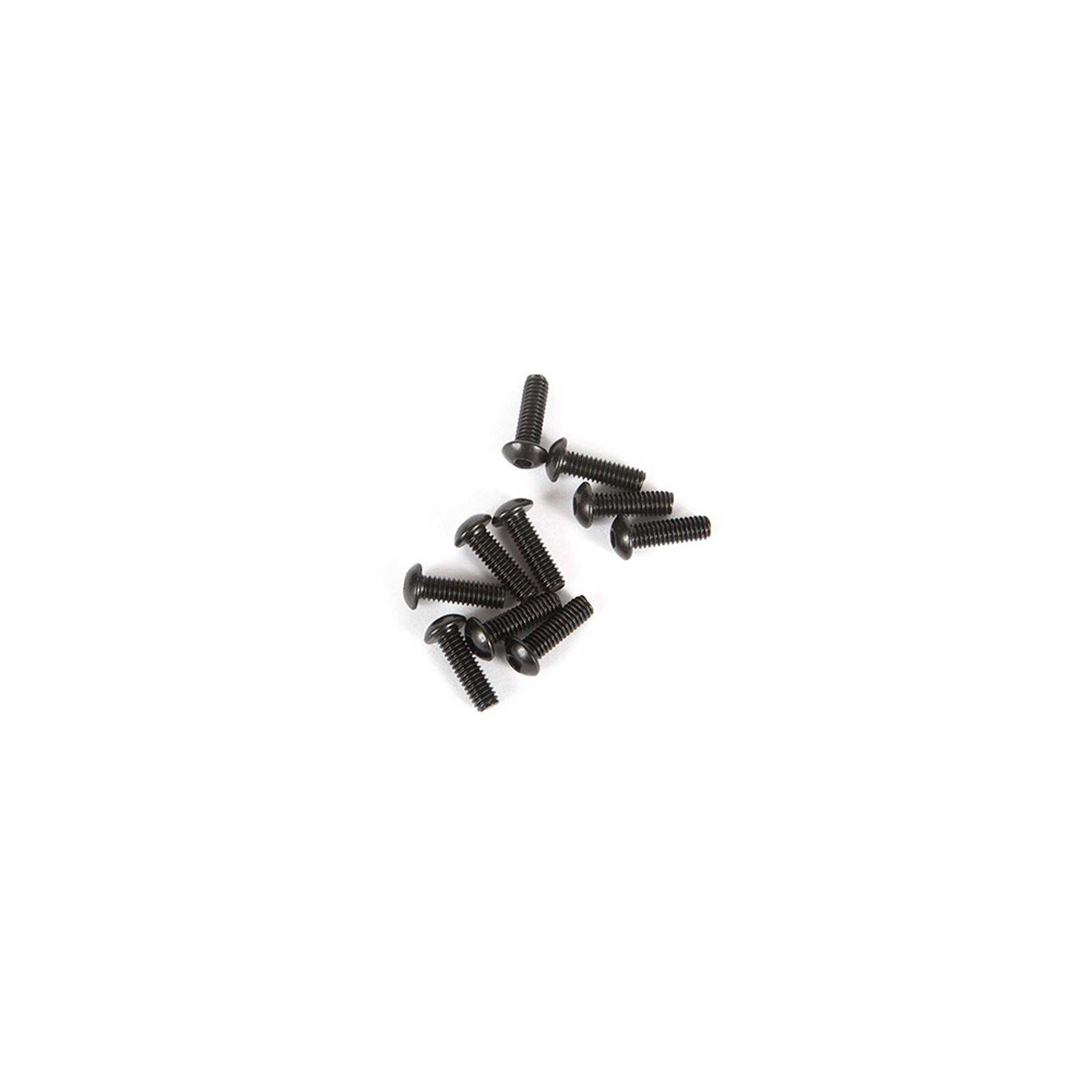 M2.5 x 8mm Button Head Screw (10)
