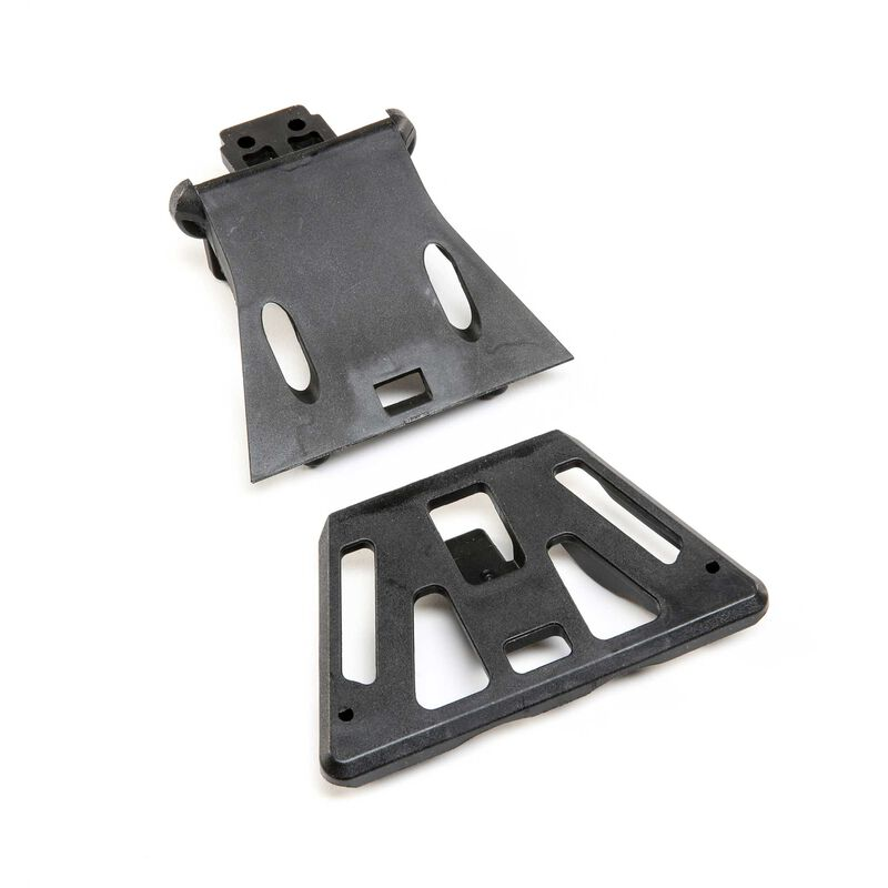 Front Skip Plate and Support Brace: SBR 2.0