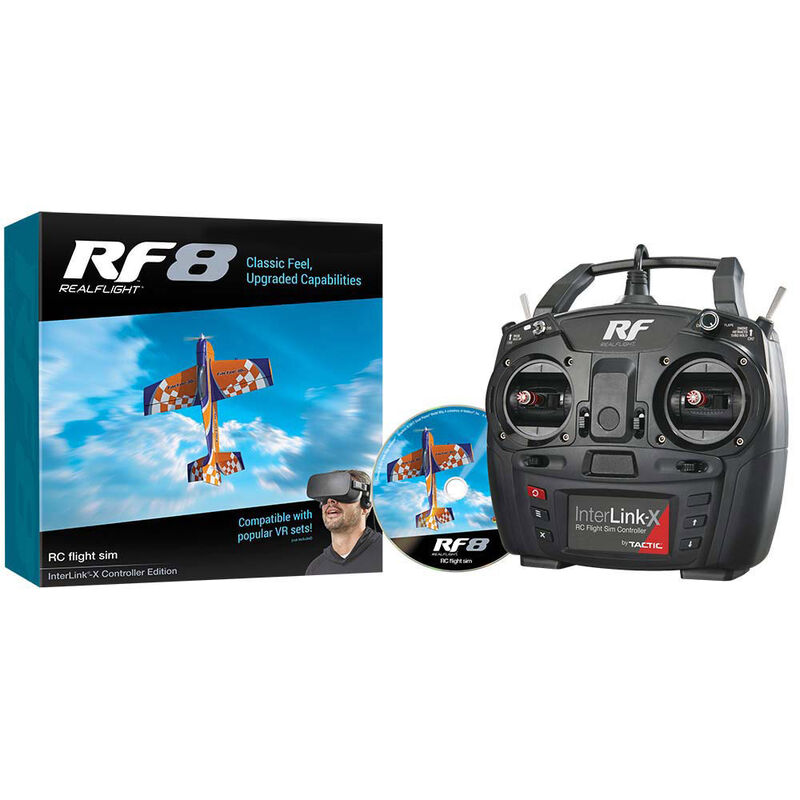 RealFlight RF-8 Interlink-X Mode 2
