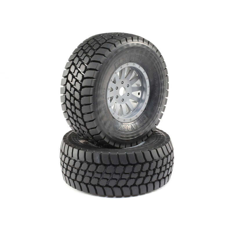Desert Claw Tires and Wheels Mounted (2):  Super Baja Rey