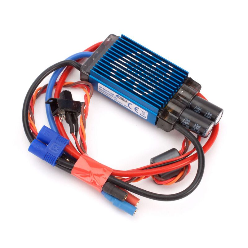 60-Amp Pro Switch-Mode BEC Brushless ESC V2: EC3