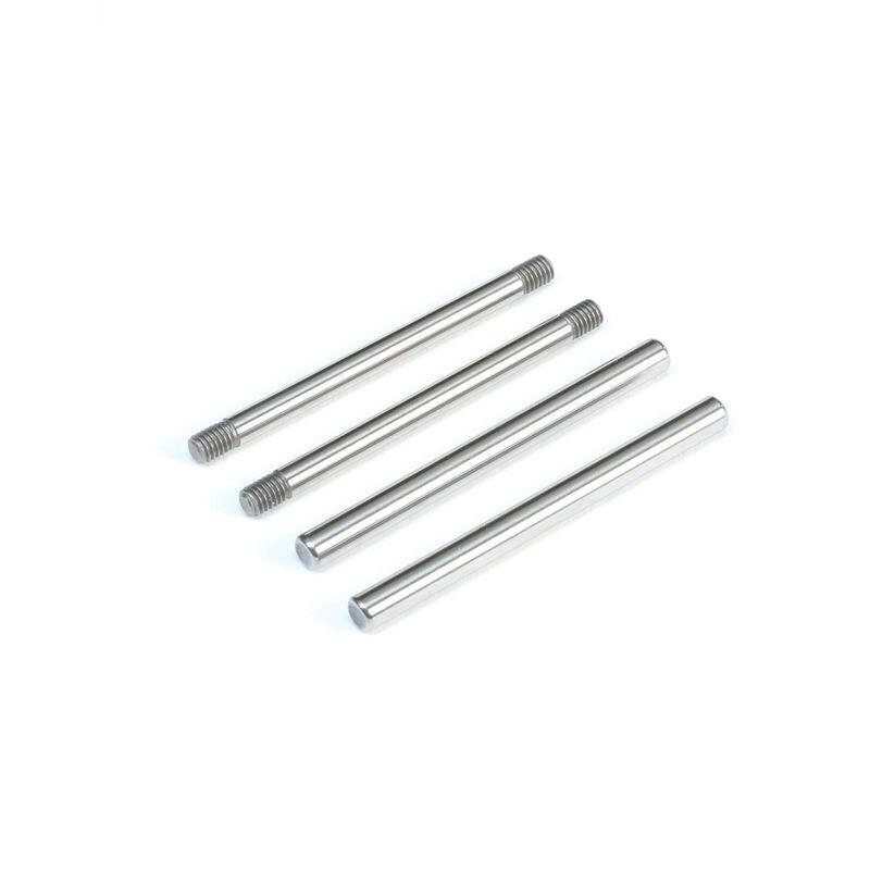 Rear Hinge Pin Set, Polished: All 22