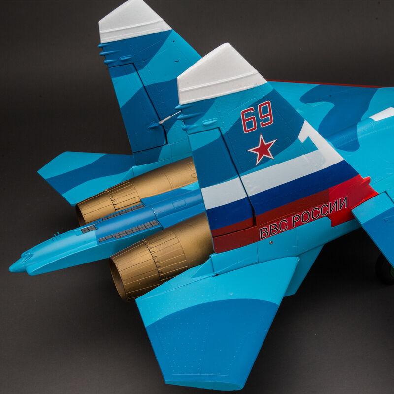 SU-30 Twin 70mm EDF PNP, 1100mm