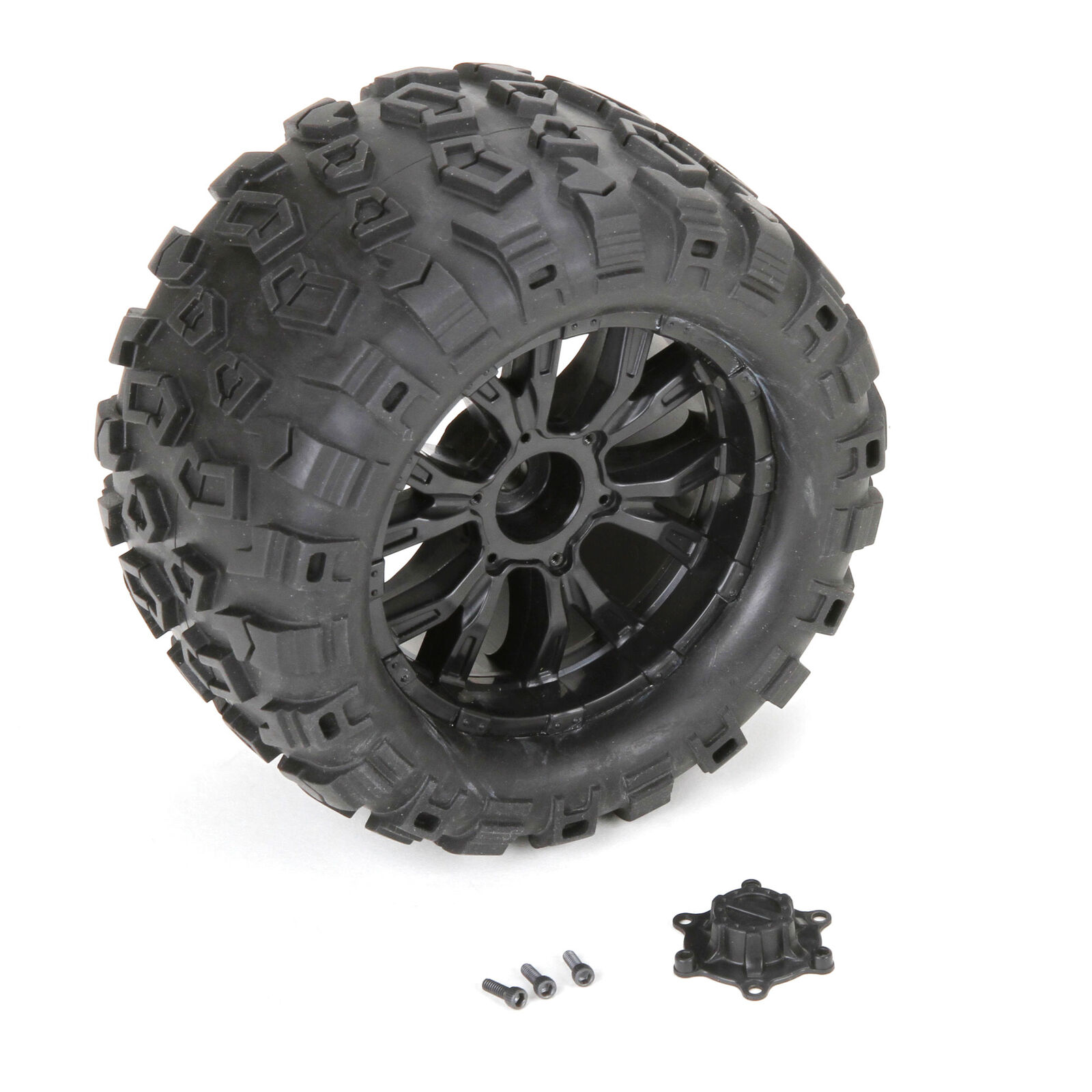 Wheel and Tire Mounted (2): TEN MT