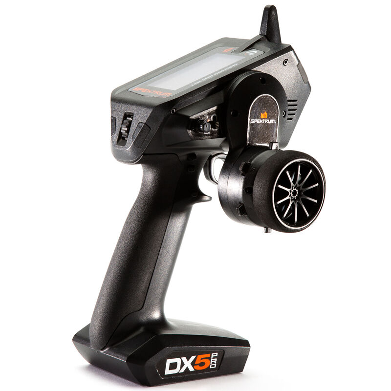 DX5 Pro 5-Channel DSMR Transmitter with SR2100