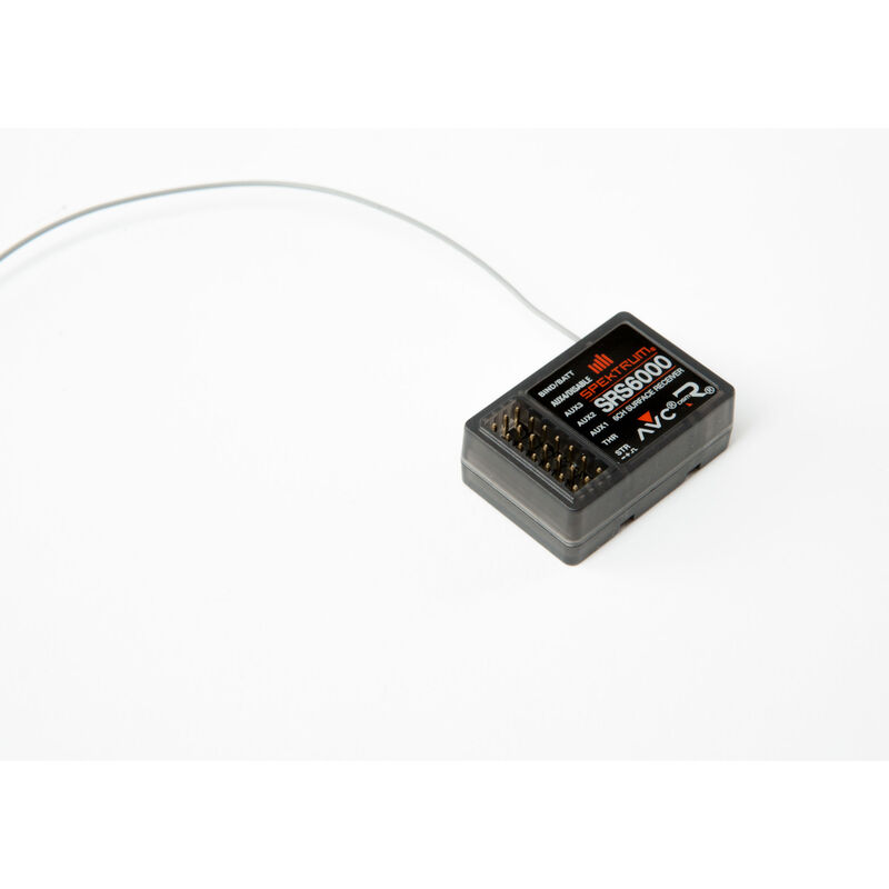 SRS6000 6-Channel DSMR AVC Surface Receiver