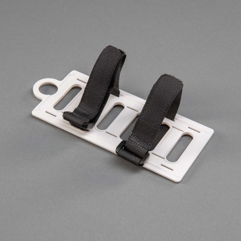 Battery Tray w Straps: P-51D 1.5m Mustang
