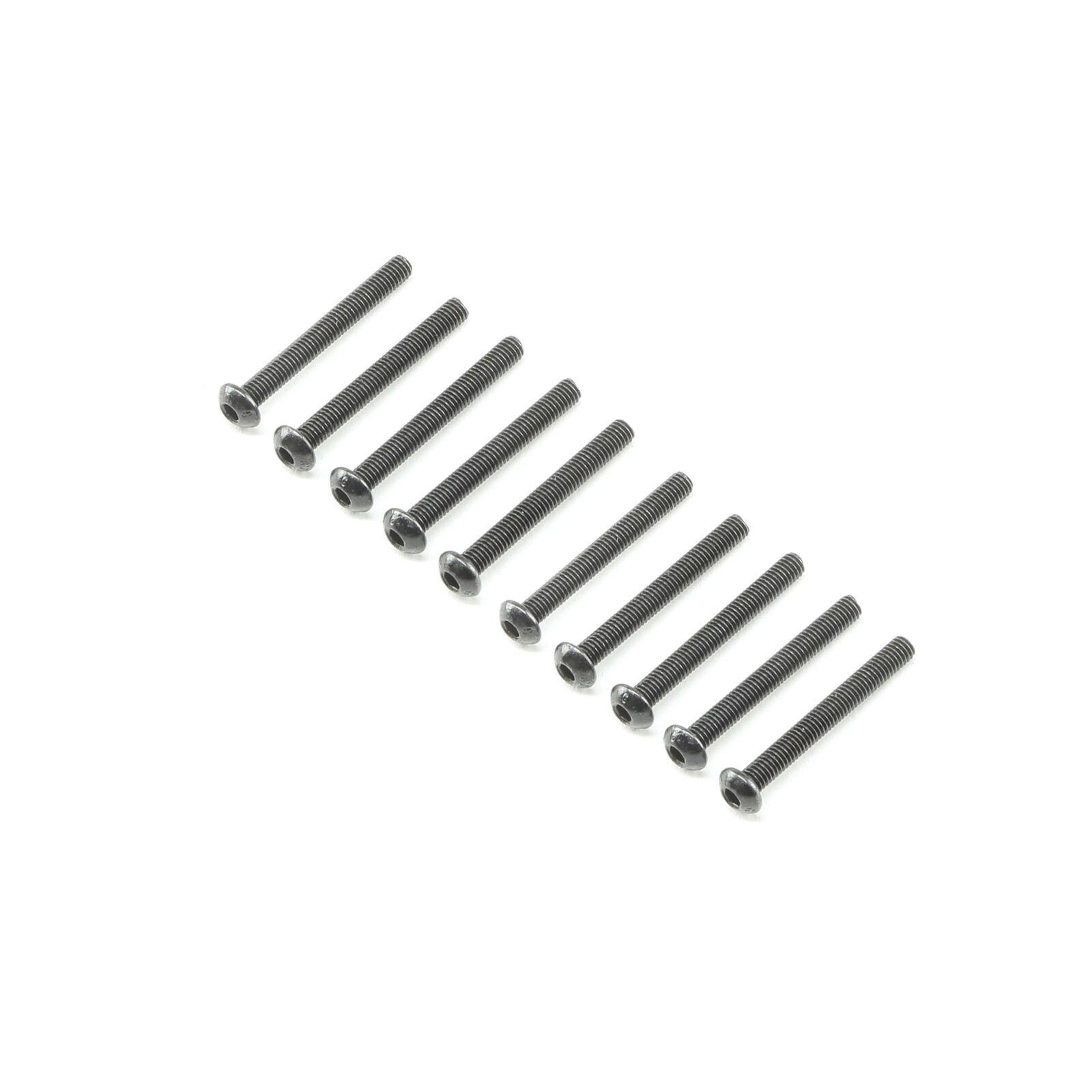 Button Head Screws M3x25mm (10)