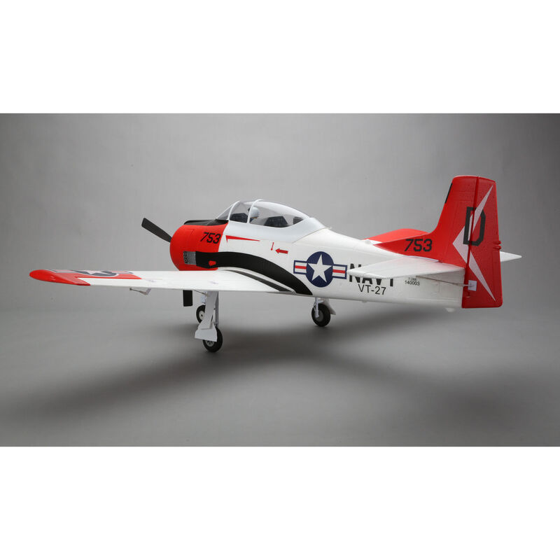 T-28 Trojan 1.2m BNF Basic with AS3X