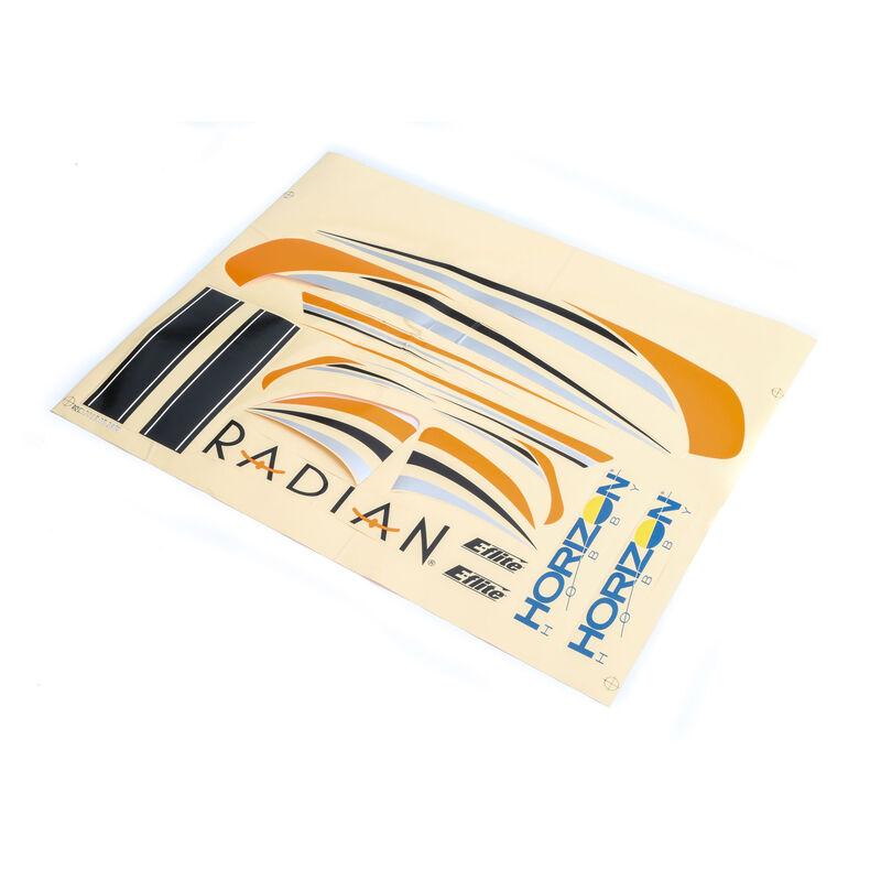 Decal Sheet: Radian BNF Basic