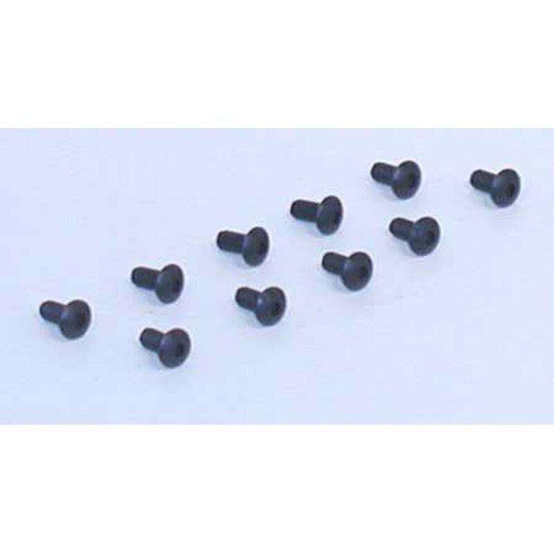 "Button Head Screws, 4-40 x 1/4"" (10)"