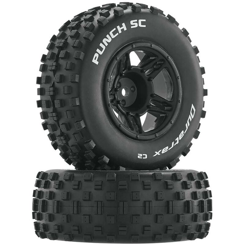 Punch SC C2 Mounted Front Tires: Slash (2)