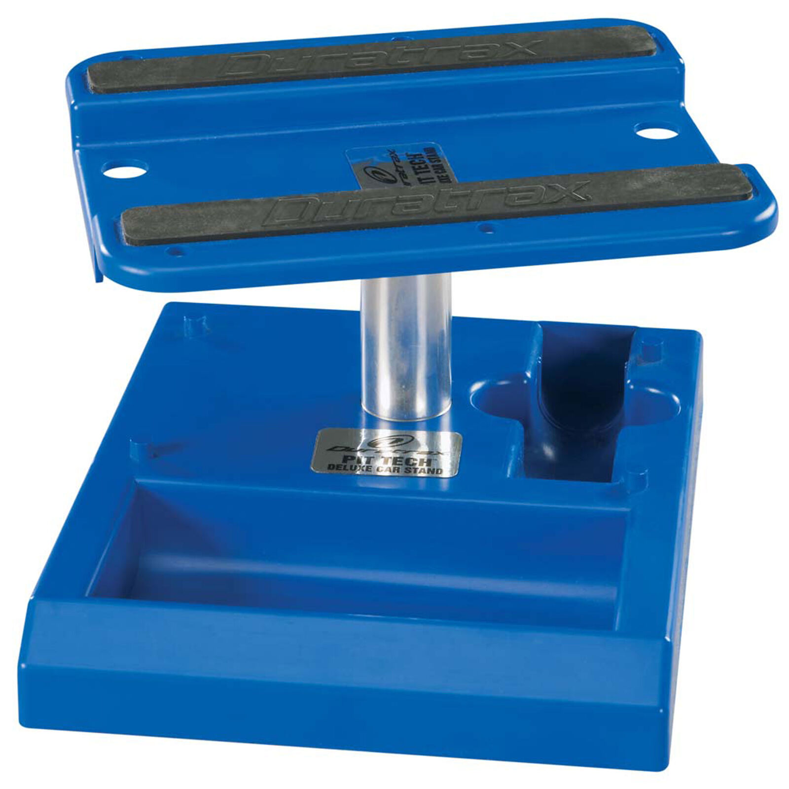 Pit Tech Deluxe Car Stand, Blue