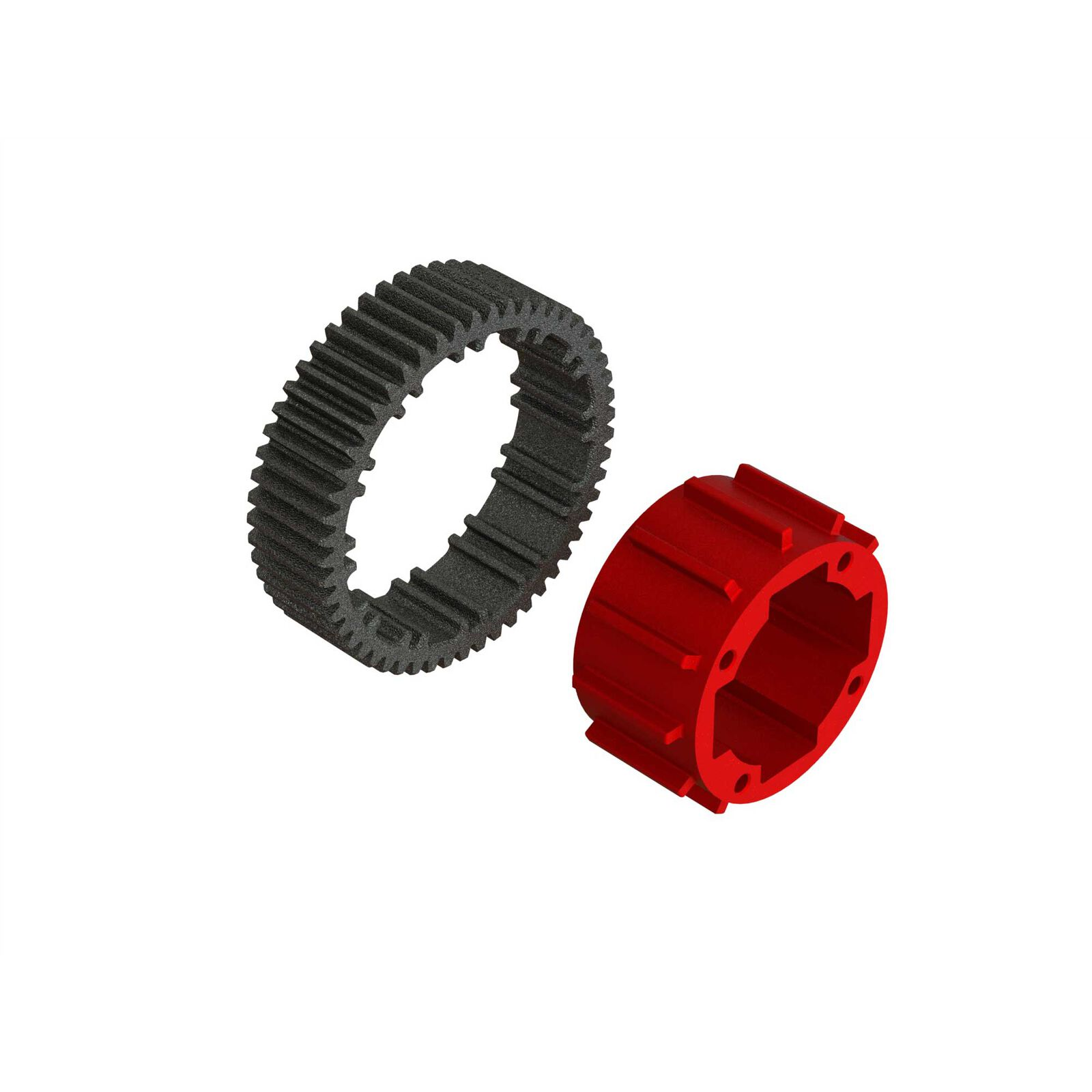 Aluminum Center Diff Case Set (1 Diff)