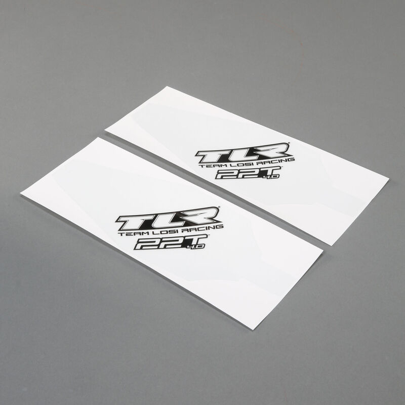 Chassis Protective Tape, Precut (2): 22T 4.0