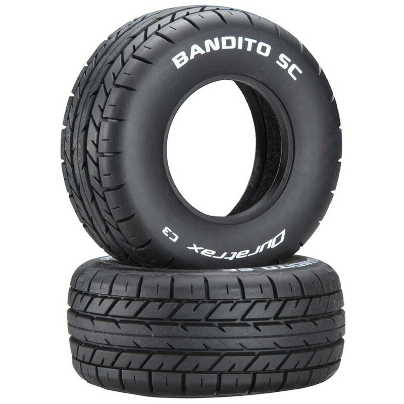 Bandito SC On-Road Tires C3 (2)