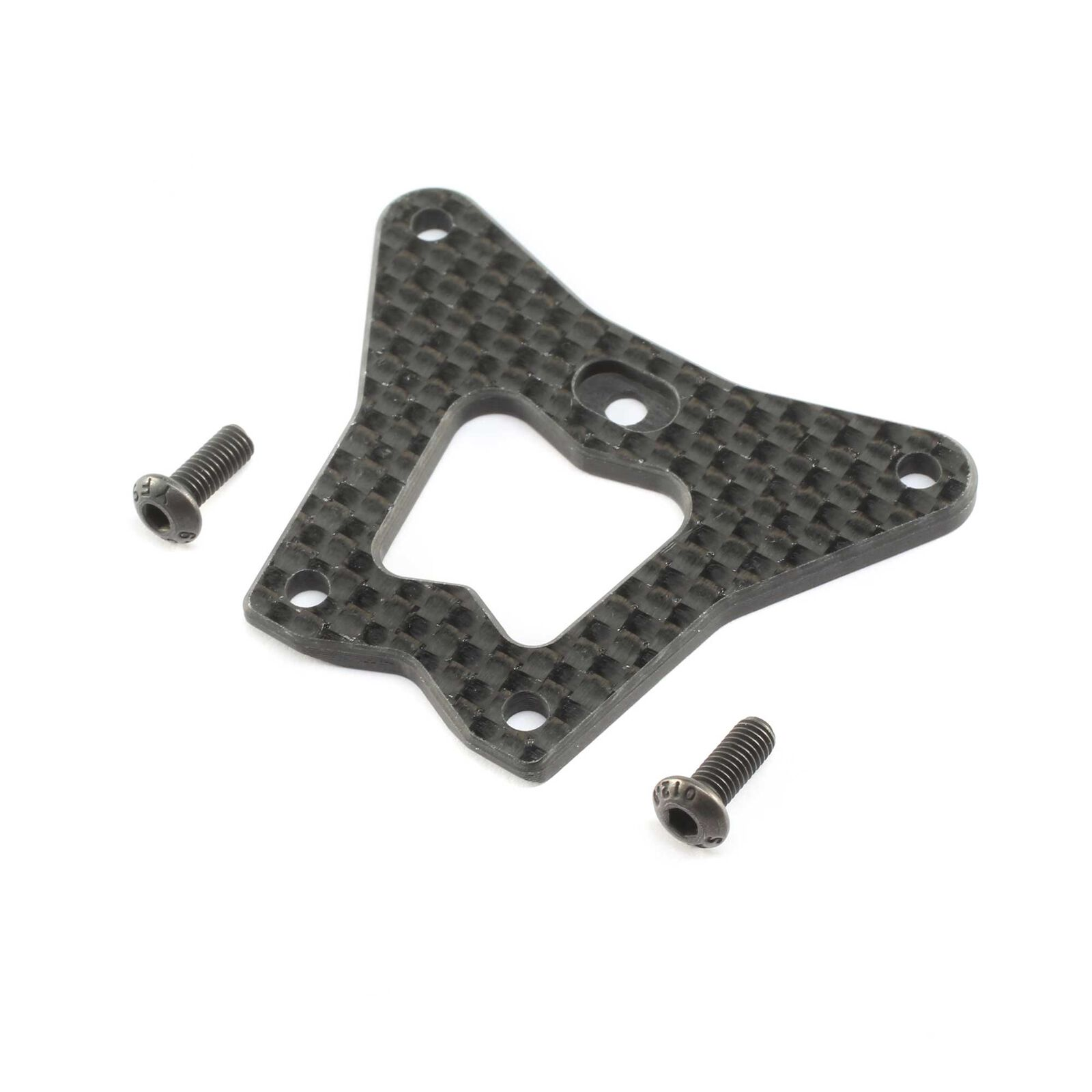 Carbon Front Steering Gearbox Brace: 22X-4