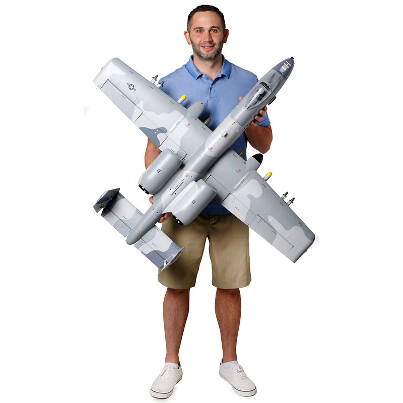 A-10 Thunderbolt II 64mm EDF BNF Basic with AS3X and SAFE Select